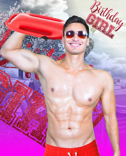 stripper zum Geburtstag
